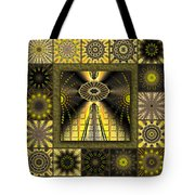 Sunflower Moon Redux Tote Bag