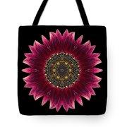 Sunflower Moulin Rouge I Flower Mandala Tote Bag