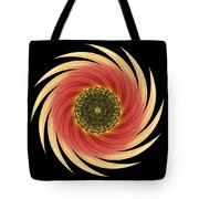 Sunflower Moulin Rouge Vii Flower Mandala Tote Bag