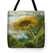 Sunflower Mountain Tote Bag