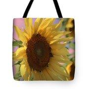 Sunflower Pop Tote Bag