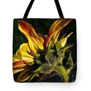 Sunflower Profile Tote Bag