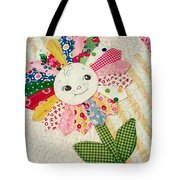 Sunflower Quilts Tote Bag