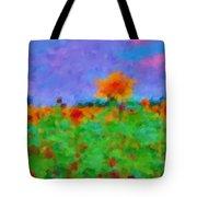 Sunflower Rhapsody Tote Bag