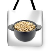 Sunflower Seeds In A Black Cup Tote Bag