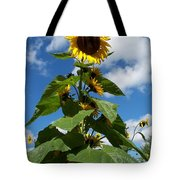 Sunflower Tall Beauty Tote Bag