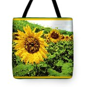 Sunflower Tapestry Tote Bag