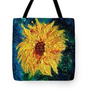 Sunflower - Tribute To Vangogh Tote Bag