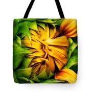 Sunflower Volunteer Tote Bag