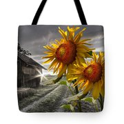 Sunflower Watch Tote Bag