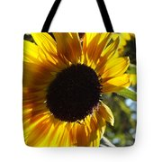 Sunflowers Alive And Free Tote Bag