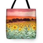 Sunflowers, Corbada, Spain Tote Bag