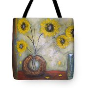 Sunflowers Tote Bag by Elena  Constantinescu