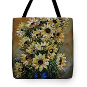 Sunflowers Fantasy Tote Bag