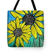 Sunflowers For Fun Tote Bag