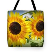 Sunflowers In Full Bloom Tote Bag
