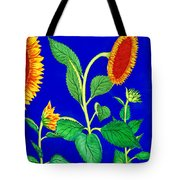 Sunflowers Tote Bag by Irina Sztukowski