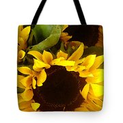 Sunflowers Tall Tote Bag