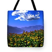 Sunflowers... Tote Bag