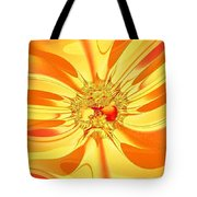 Sunglow Fractal Tote Bag