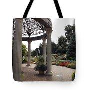 Sunken Garden Ironworks Tote Bag