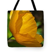 Sunkissed Poppy Tote Bag