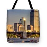 Sunkissed Prudential - Boston Tote Bag by Joann Vitali