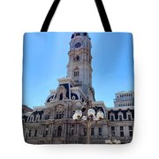 Sunlight City Tote Bag