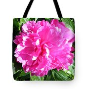 Sunlight On The Peony Tote Bag