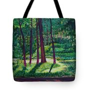 Sunlight Peeping Through. Tote Bag
