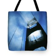Sunlight Shining Through Golden Gate Tote Bag