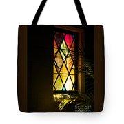 Sunlit Chapel Tote Bag