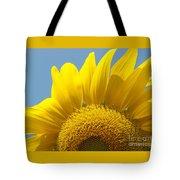 Sunlit Sunflower Tote Bag