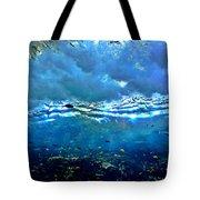 Sunlit Wave Tote Bag