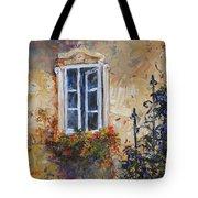 Sunlit Window Tote Bag