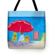 Sunny Afternoon At The Beach Tote Bag