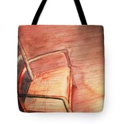 Sunny And Chair Tote Bag