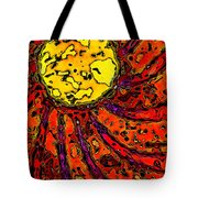 Sunny And Warm Today Tote Bag