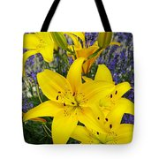 Sunny Asiatics With Lavender Tote Bag