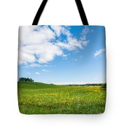 Sunny Day At The Fields Of Gold Tote Bag