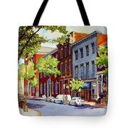 Sunny Day Cafe Tote Bag
