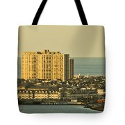 Sunny Day In Atlantic City Tote Bag by Trish Tritz