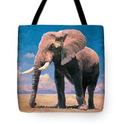 Sunny Day In The Savanna Tote Bag