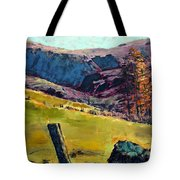 Sunny Day In The Countryside Tote Bag