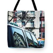 Sunny Day In Washington Heights Tote Bag