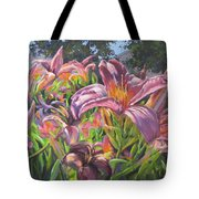 Sunny Daylilly Tote Bag