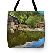 Sunny Days At Mcconnells Mill Tote Bag