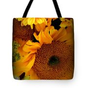 Sunny Easter Bouquet Tote Bag