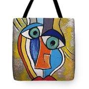 Sunny Face Tote Bag