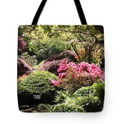 Sunny Japanese Garden Tote Bag